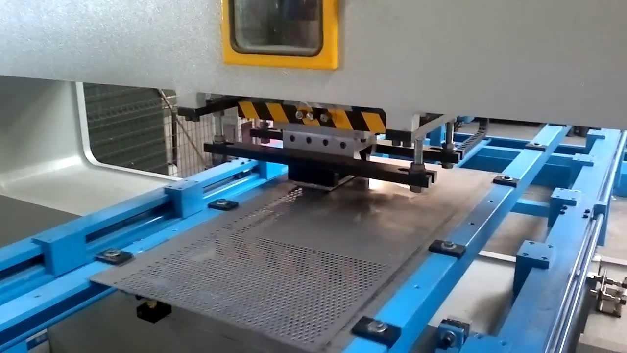 Производство перфорированного листа и полосы