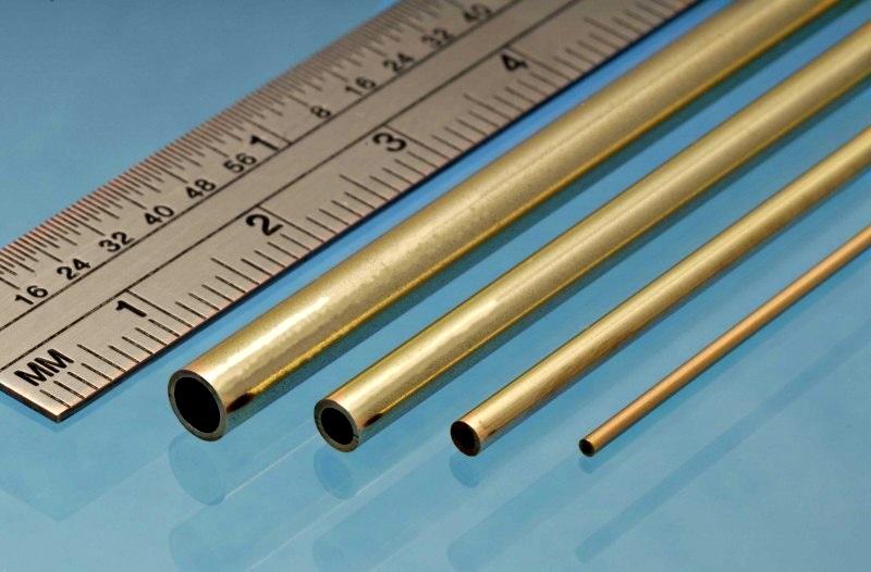 Латунный прямоугольные трубы