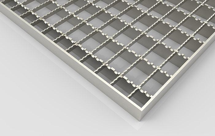 Лестничные площадки по серии 1. 450. 3-7. 94 с решетчатым настилом из.